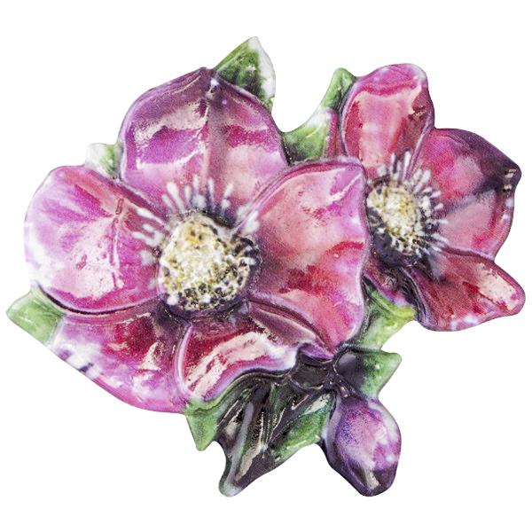 Wachsornament weihnachts floristik 5 farbig gepr gt 7 for Bastelbedarf floristik