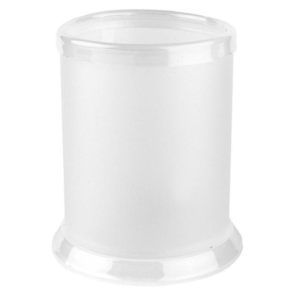 Tisch Laternen ˜ 7 9cm 10 3cm hoch transparent weiß 5 Stück