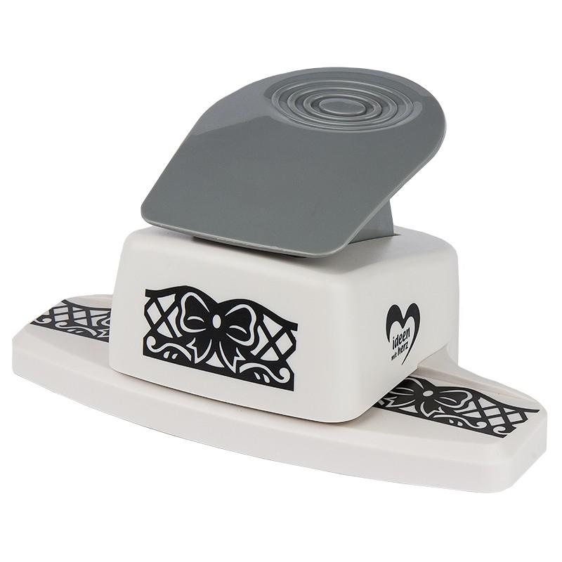 royal bord renstanzer schleife stanzung 2 9 x 6 cm mit pop up effekt bord ren stanzer. Black Bedroom Furniture Sets. Home Design Ideas
