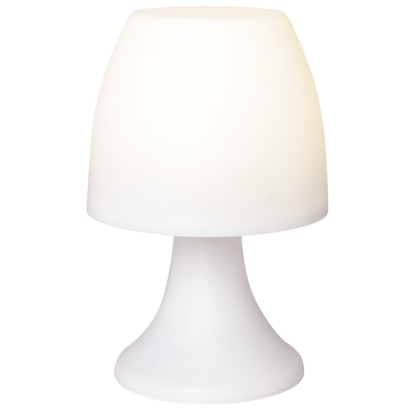 led lampe mit timerfunktion wei 19 cm hoch leucht deko led leucht deko deko. Black Bedroom Furniture Sets. Home Design Ideas