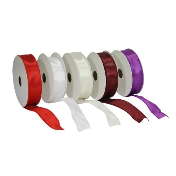 Deko schleifenband mit drahtkante 2 5 cm x 10 m 5er set for Geschenkartikel katalog