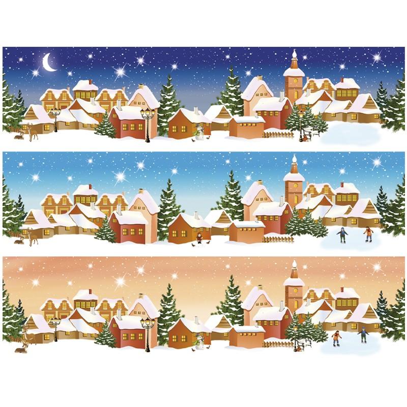 zauberfolien winterzeit schrumpffolien f r 10cm 8 5. Black Bedroom Furniture Sets. Home Design Ideas